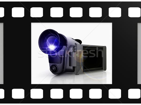 Video Camera Stock photo © njaj