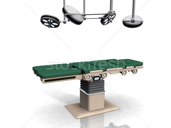 Quirúrgico mesa médico salud hospital profesional Foto stock © njaj