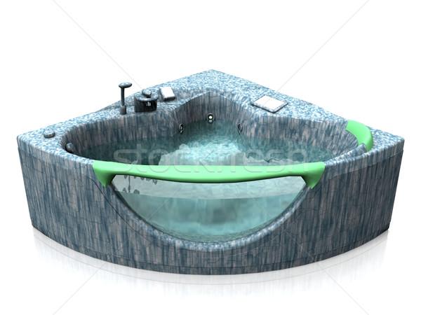 the bubble bath Stock photo © njaj