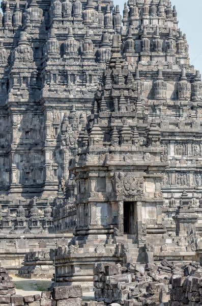 Java Indonesië steen godsdienst cultuur tempel Stockfoto © njaj