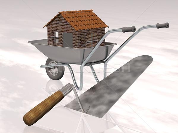 построить дома здании строительство домой промышленности Сток-фото © njaj