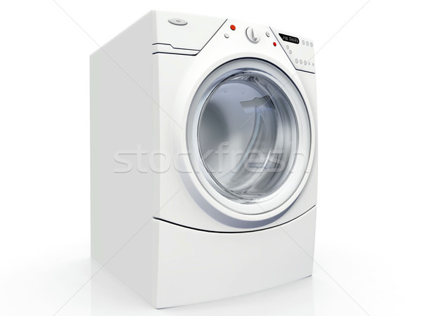 washing machine on a white background Stock photo © njaj