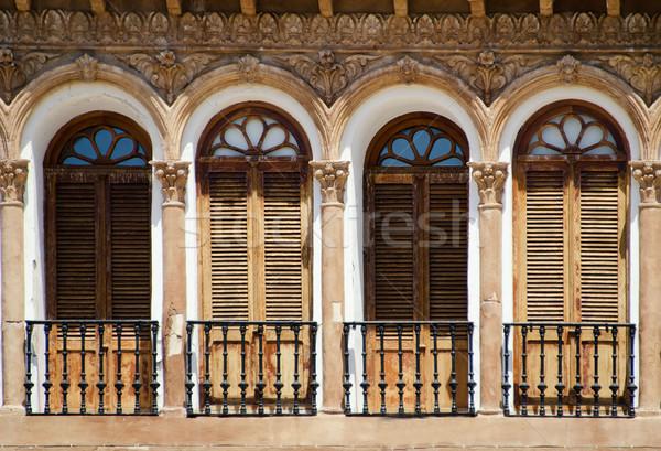 Andalusian window Stock photo © njaj