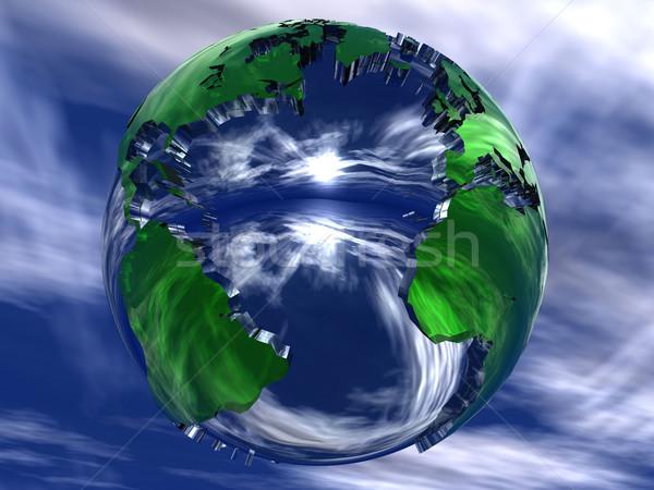 земле небе науки планеты среде солнечной Сток-фото © njaj