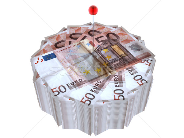 wad of cash Stock photo © njaj
