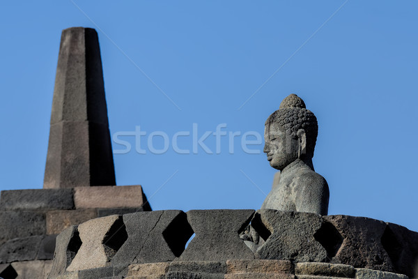 Java Indonesia viaggio sunrise architettura buddha Foto d'archivio © njaj