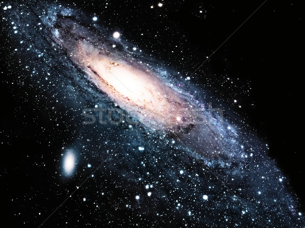 a spiral galaxy in the universe Stock photo © njaj