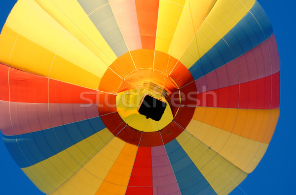 Foto stock: Globo · de · aire · caliente · deporte · diversión · libertad · volar · caliente
