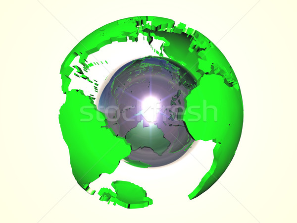 the Earth Stock photo © njaj
