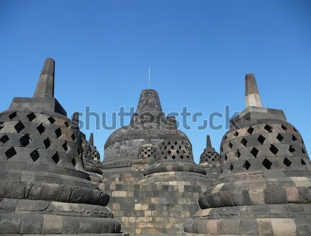 Java Voyage sunrise architecture buddha temple Photo stock © njaj