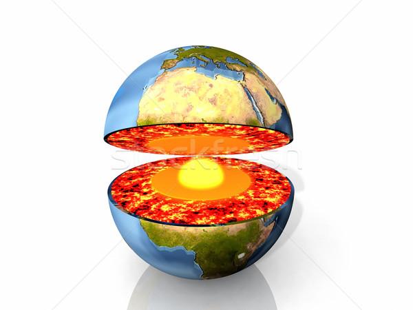 Inside the Earth Stock photo © njaj