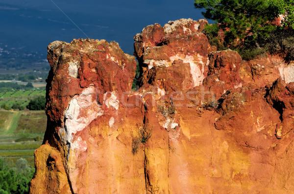 ochres of Roussillon Stock photo © njaj