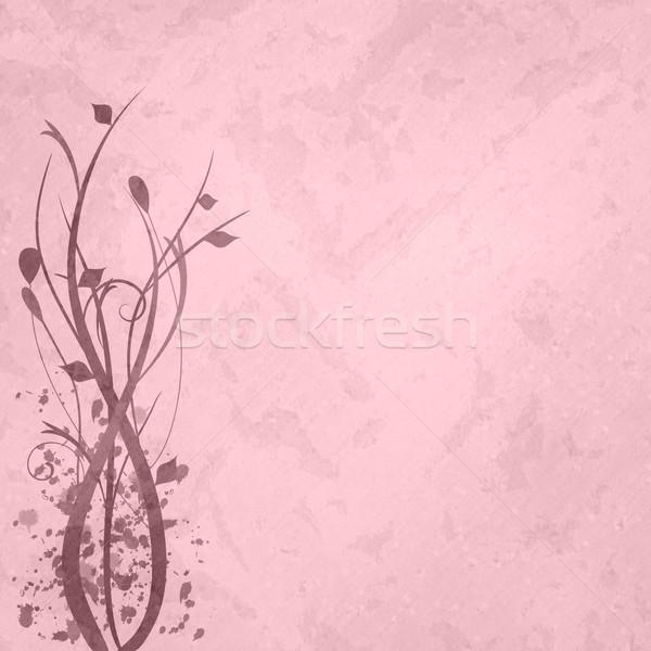 Różowy kwiatowy obraz tekstury wiosną charakter Zdjęcia stock © nmarques74