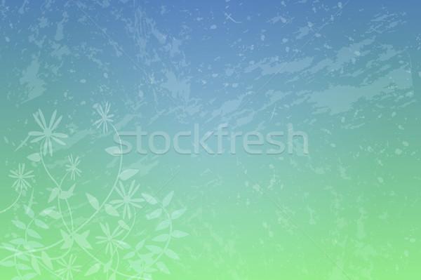 Kwiatowy grunge obraz wzór tekstury wiosną Zdjęcia stock © nmarques74