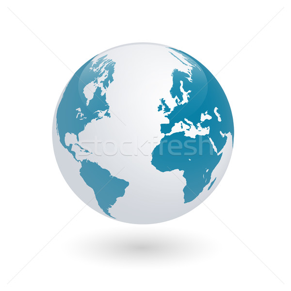 Earth Globe Stock photo © nmarques74