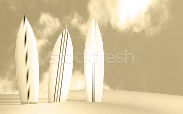 Surfboards Stock photo © nmarques74