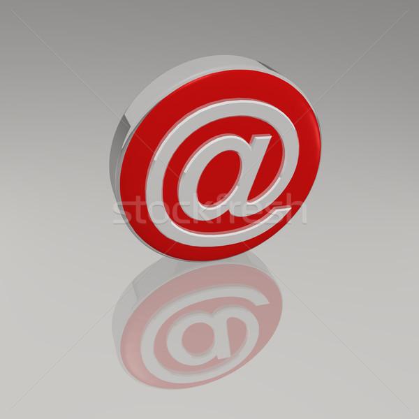 3D symbol działalności komputera Internetu tle Zdjęcia stock © nmarques74
