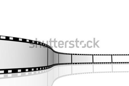 Bioscoop afbeelding geïsoleerd witte film Stockfoto © nmarques74