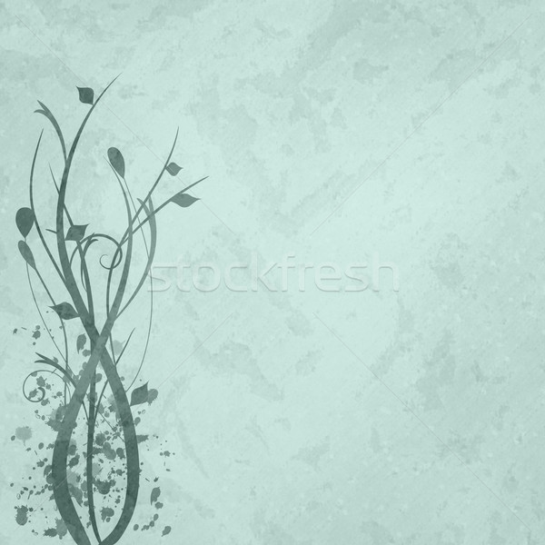 Cyan floral image texture printemps nature Photo stock © nmarques74
