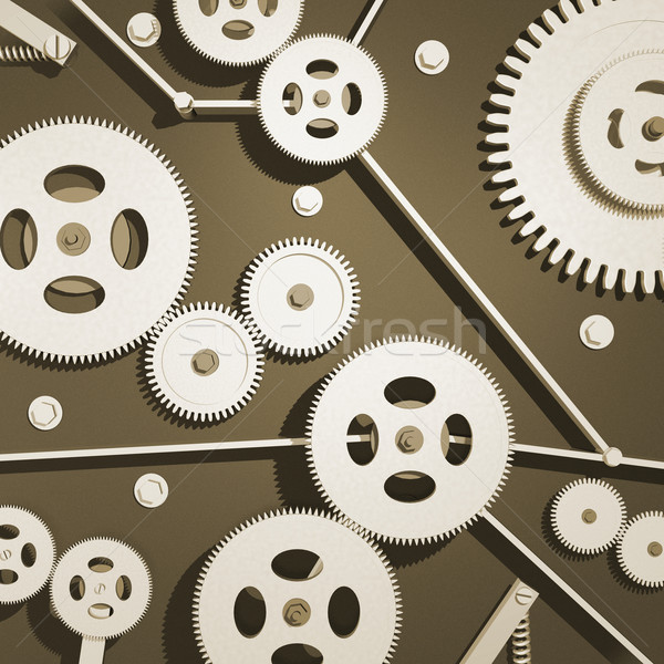 Metal narzędzi różny tle przemysłu fabryki Zdjęcia stock © nmarques74