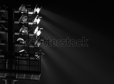The Stadium Spot-light tower Stock photo © Nneirda