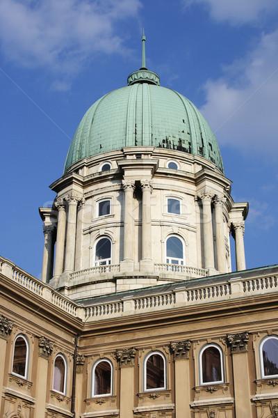 Buda castle Stock photo © Nneirda
