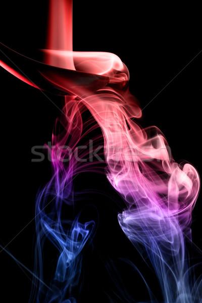 Stock fotó: Tarka · füst · természetes · fekete · fény · űr