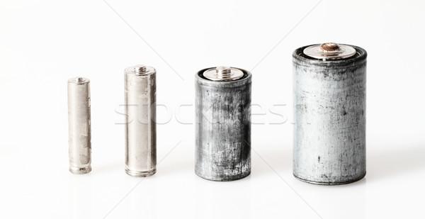 Old batteries Stock photo © Nneirda