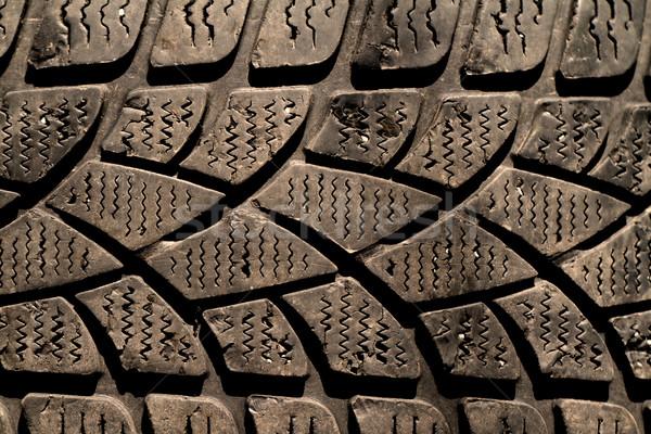 Car tire Stock photo © Nneirda