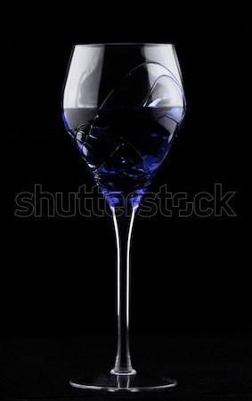 Wine glass with blue potion Stock photo © Nneirda