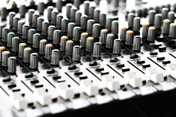 Mixeur détail technologie noir laboratoire Photo stock © Nneirda