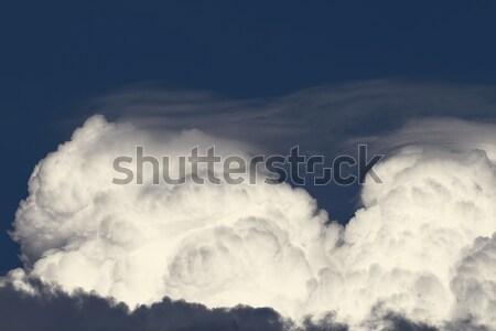 Sky with clouds Stock photo © Nneirda