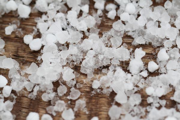 Pieces with salt Stock photo © Nneirda