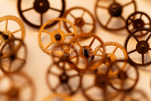 Small parts of clock Stock photo © Nneirda