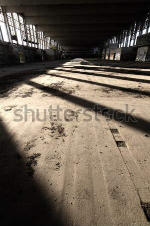 Régi építészet rombolás épület ház építkezés fal Stock fotó © Nneirda