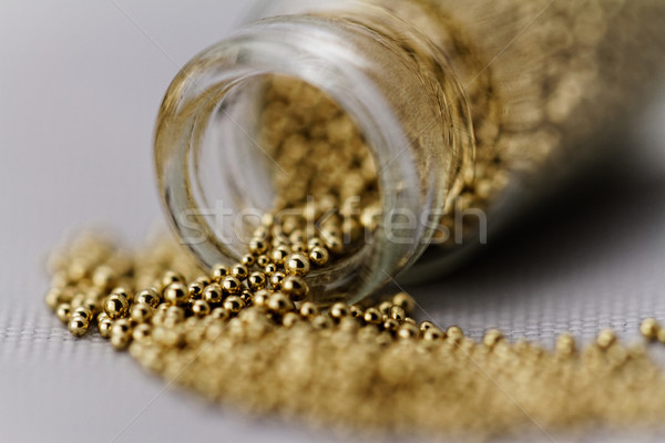 Pearls for nails Stock photo © Nneirda