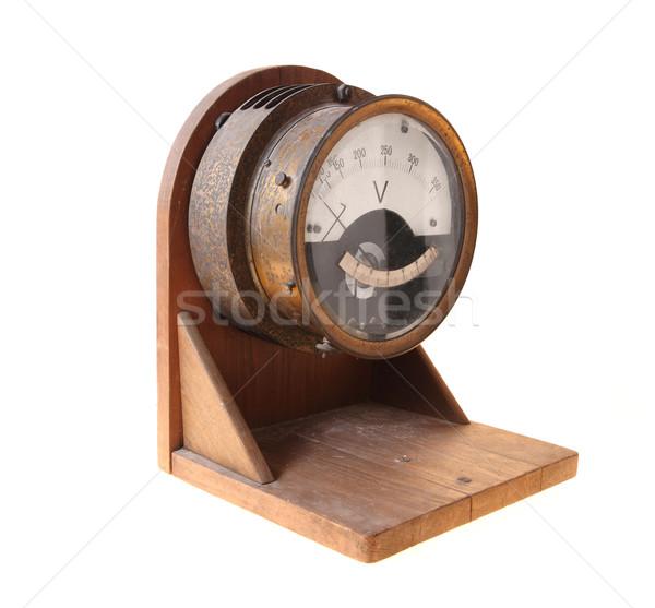 Voltmeter Stock photo © Nneirda