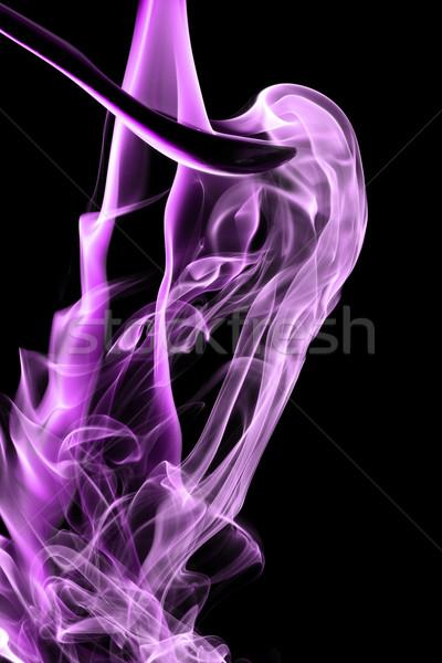 Magenta füst természetes fekete fény űr Stock fotó © Nneirda