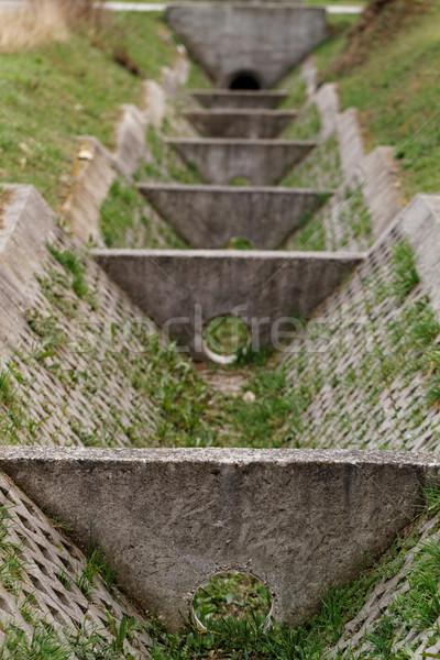 Dry ditch Stock photo © Nneirda