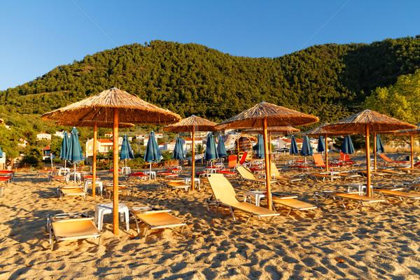 砂浜 写真 美しい ギリシャ語 海 美 ストックフォト © Nneirda