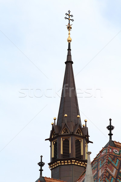 Photo of a steeple Stock photo © Nneirda