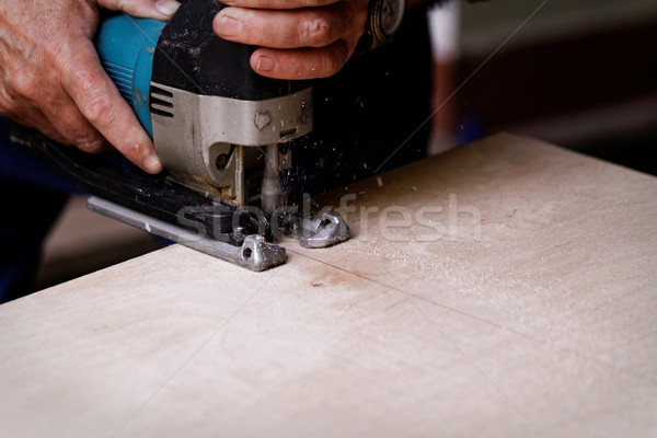 Stock photo: Fret saw