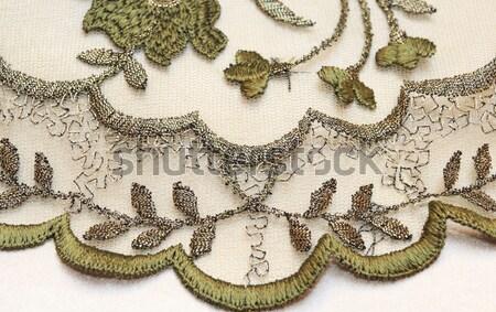 緑 繊維 愛 光 白 ドレス ストックフォト © Nneirda
