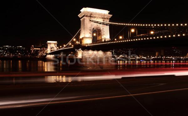 The Chain Bridge Stock photo © Nneirda