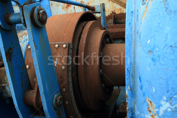 Stock fotó: Ipari · fotó · öreg · hely · üzlet · építkezés