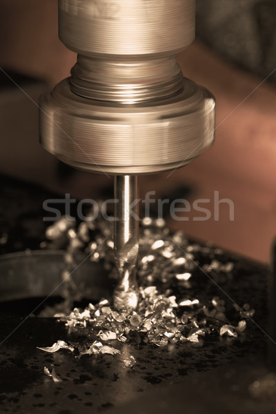 CNC drilling Stock photo © Nneirda