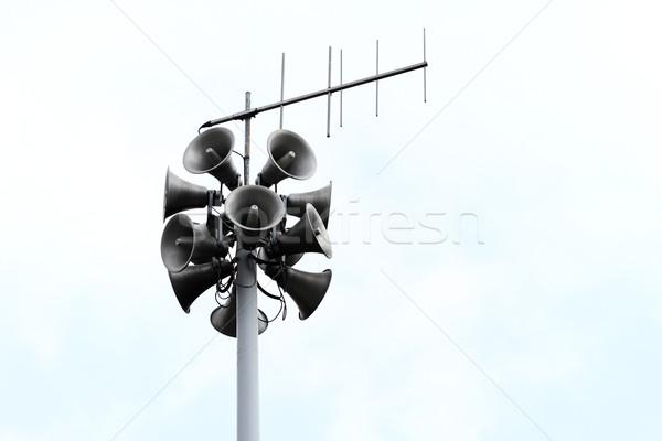 Loudspeakers Stock photo © Nneirda