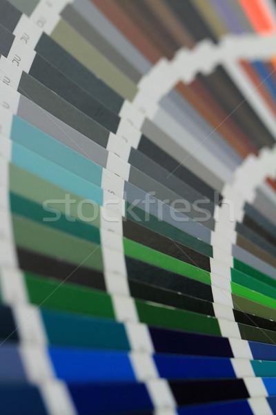 RAL colors Stock photo © Nneirda