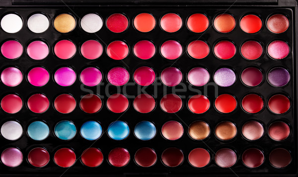 Gloss paleta tiro macio foco Foto stock © Nneirda