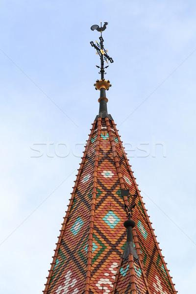 Photo of a steeple Stock photo © Nneirda